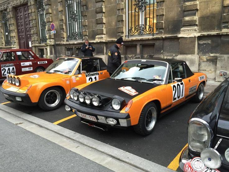 Monte Carlo Historique 2016 Monte Carlo Porsche 914 And