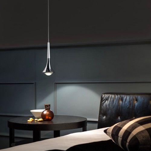 Minimal Italian Pendant Light   Assorted Finishes – Lighting Collective