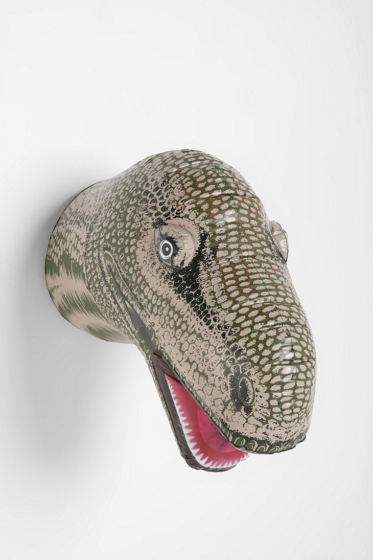 Inflatable dino head? Oh, @Cortney Hood Hood Hood Tipton, you make me ...