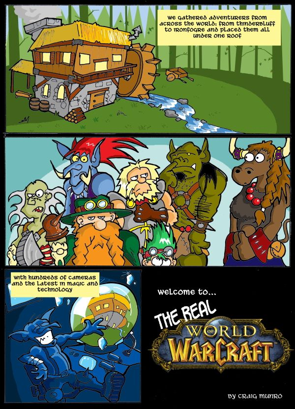 The Real World of Warcraft 1 by CyrilTheWizard on DeviantArt