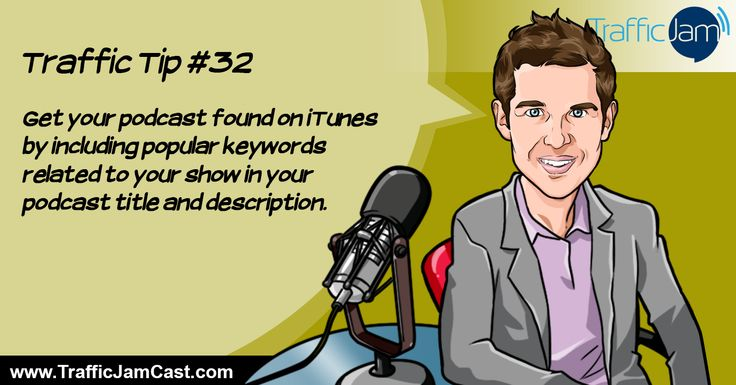Traffic Tip #32 - Podcast SEO :)  Source: http://www.veravo.com/trafficjam/tj32-social-media-mobilisation-alex-cote/