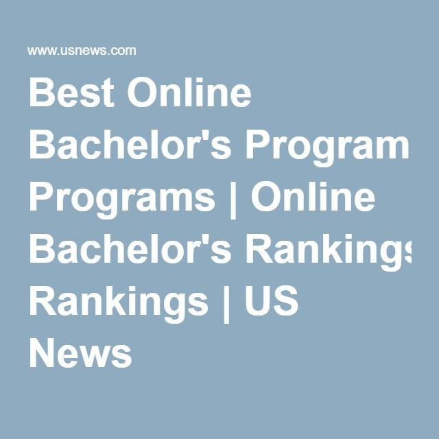 Best Online Bachelor's Programs   Online Bachelor's Rankings   US News