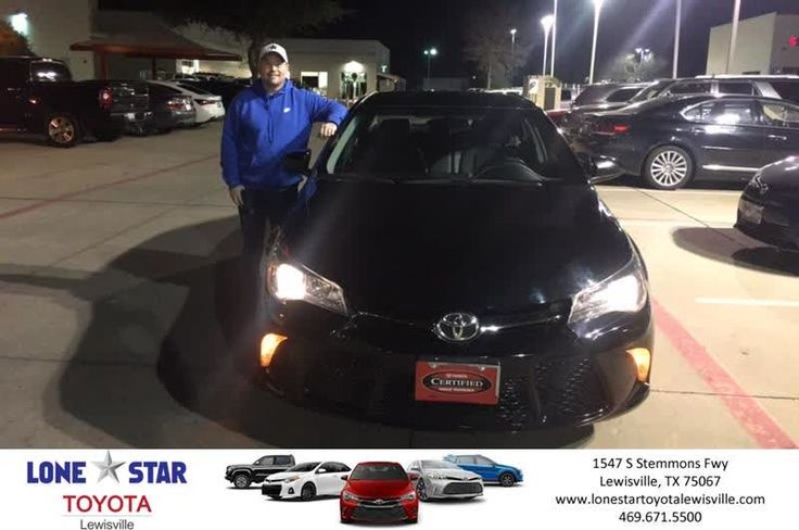 Congratulations Michael on your #Toyota #Camry from Chris Richardson at Lone Star Toyota of Lewisville!  https://deliverymaxx.com/DealerReviews.aspx?DealerCode=E208  #LoneStarToyotaofLewisville