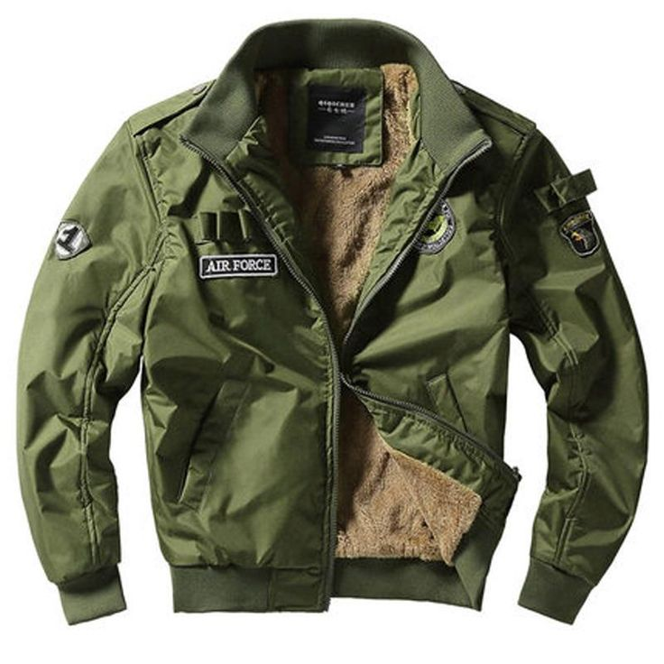 Air Force Bomber Jacket Military Mens jacket Cool Style
