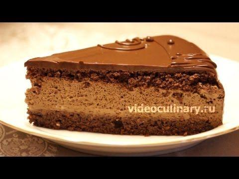 Рецепт - Шоколадный торт Даниэлла от http://videoculinary.ru
