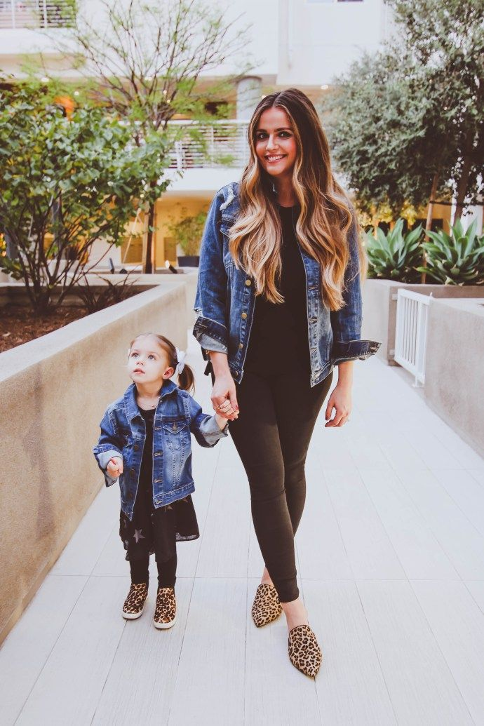 16a2efe158e7 OOTD    Matching Mommy-and-Me Denim Jackets
