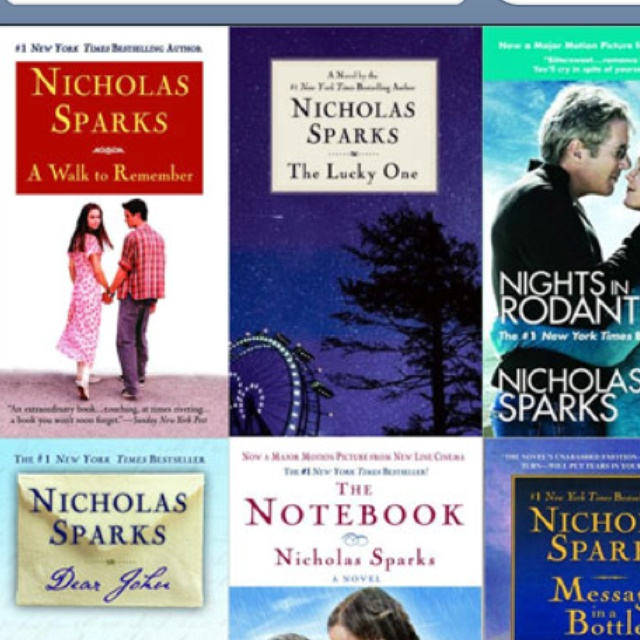 Nicholas SparksWorth Reading, Nicholas Sparks, Favorite Things, Book Worth, The Notebook, Sparkly Book, Favorite Movie, Nicholas Sparkly, Favorite Author