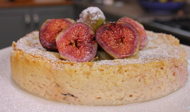 Cheesecake with Drunken Figs : Dinner Dash with Hilary Biller : The Home Channel