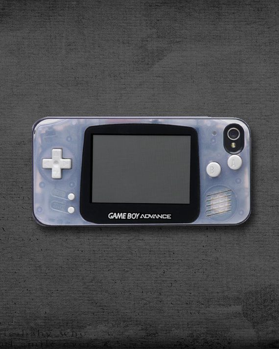 Gameboy Gameboy Advance iPhone 4/4S5/5S by RiverCityPrinting