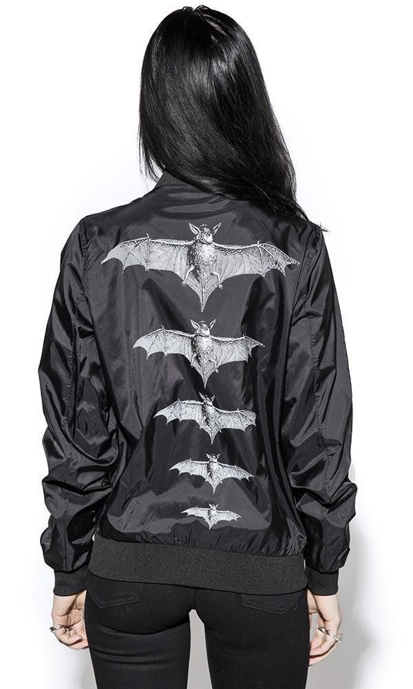 Goth RELEASE THE BATS Fashion Women/'s Kimono // Occult Blackcraft Cult