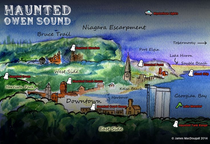 Haunted Owen Sound 2014 by James MacDougall