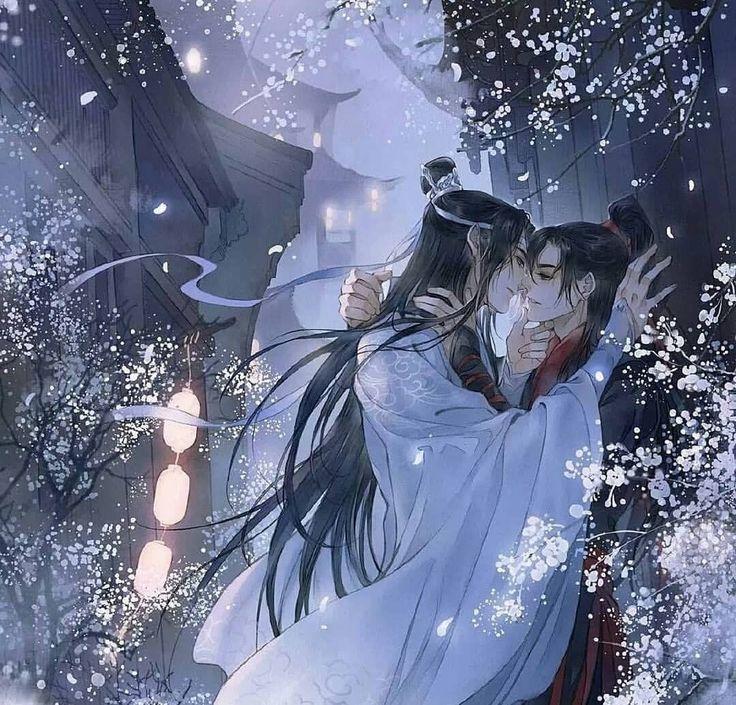 Pin de Ana em Untamed Anime, Casal anime, Ilustrações