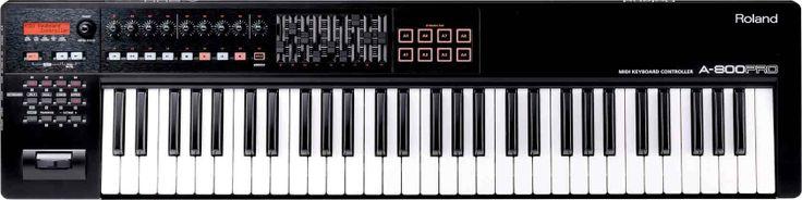 A-800PRO: MIDI Keyboard Controller Jika Anda sedang mencari keyboard controller yang dapat Anda gunakan di studio, di atas panggung, atau di mana pun inspirasi hadir, maka tidak ada yang lain kecuali A-800PRO. Menggabungkan rekayasa teknologi terbaik dari Roland dengan Cakewalk legendaris yang mudah digunakan, A-800PRO memiliki fitur dan feel yang Anda butuhkan untuk mendapatkan hasil maksimal dari pertunjukan dan produksi musik.