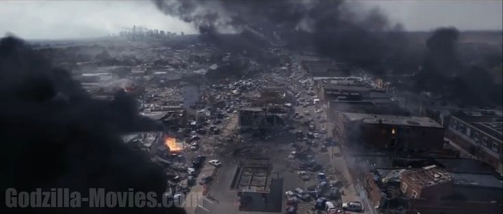 Godzilla 2014 Trailer Still Shots