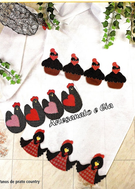 Diane maybe for your hide a chicken              free applique pattern