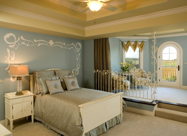 Master bedroom step up to sitting area dream home pinterest master bedrooms home and so Step up master bedroom
