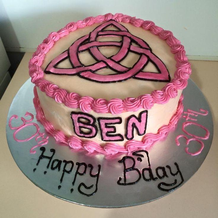 Charmed Cake #chocolatecake #yummy #charmed #witchy #30th