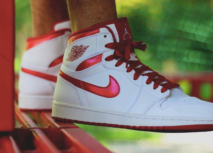 nike air jordan 1 do the right thing pack white metallic red 2009 (by kaze845