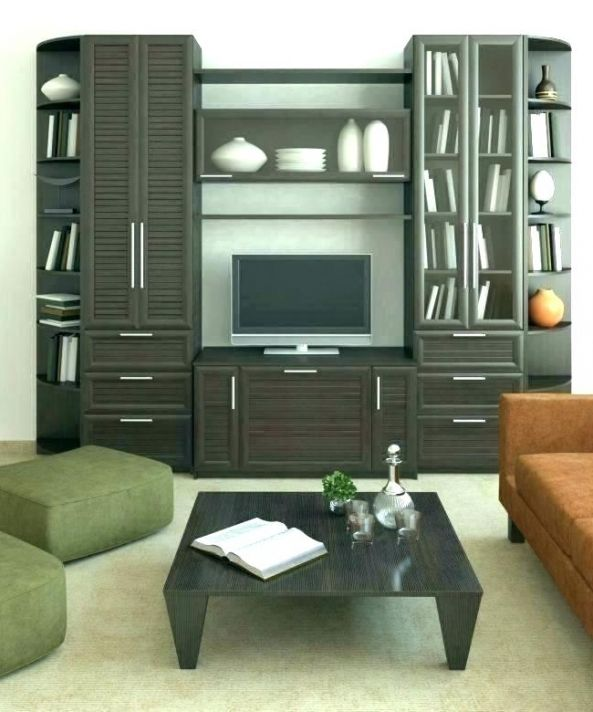 Modern Living Room Storage Cabinets With Doors Lanzhome Com In 2020 Living Room Storage Cabinet Living Room Cabinets Storage Furniture Living Room