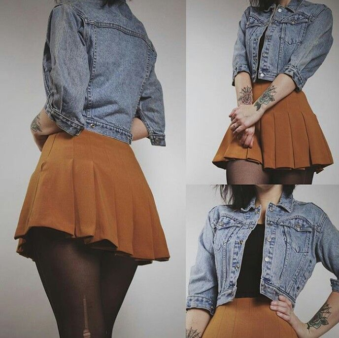 Cute, maybe with a black skirt instead....