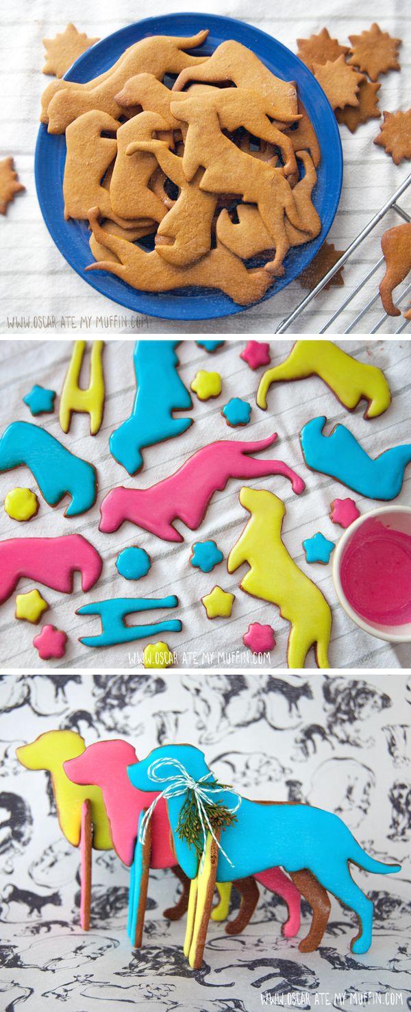 Me Want Cookie, Rhodesian Ridgeback gingerbread cookie cutter. Photo credit: Natalya Zahn     Source: http://oscaratemymuffin.com