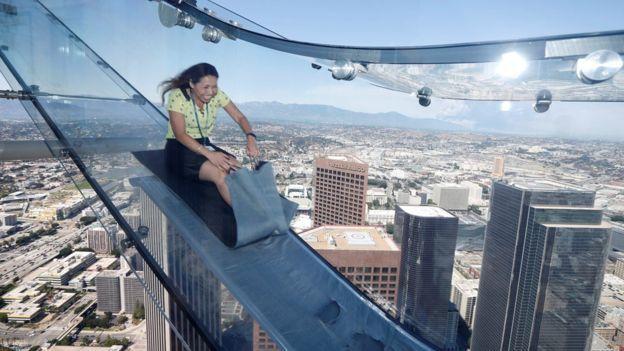 Glass Slide Ride Coming to Los Angeles Skyscraper
