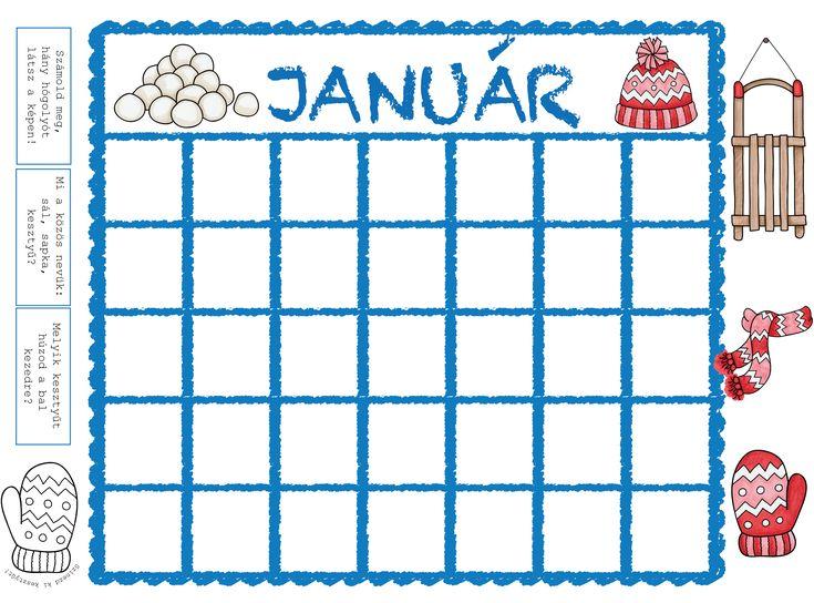 Tanítsd meg a gyermekedet a naptár használatára! Így saját tapasztalatára építve fogja megtanulni a napok, hónapok, évszakok neveit!