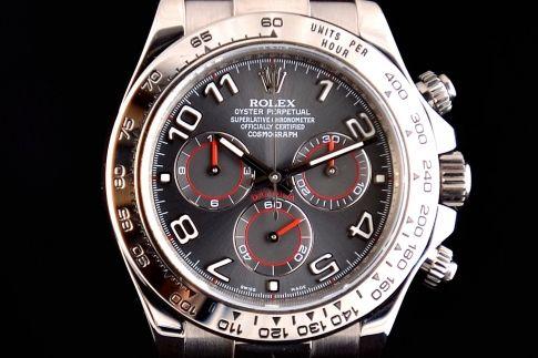 Rolex Daytona oro bianco ardesia 116519