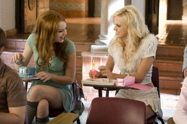 Still of Anna Faris and Emma Stone in The House Bunny