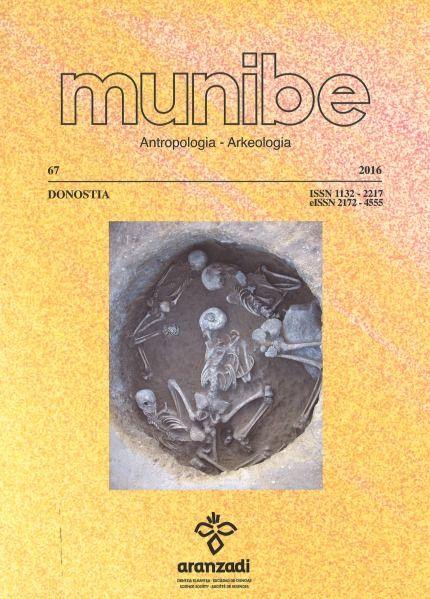 MUNIBE. ANTROPOLOGIA-ARKEOLOGIA