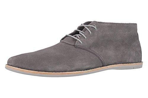 Oferta: 144.95€. Comprar Ofertas de Timberland - Zapatos de cordones de Piel para hombre Gris gris, color Gris, talla 47.5 EU barato. ¡Mira las ofertas!