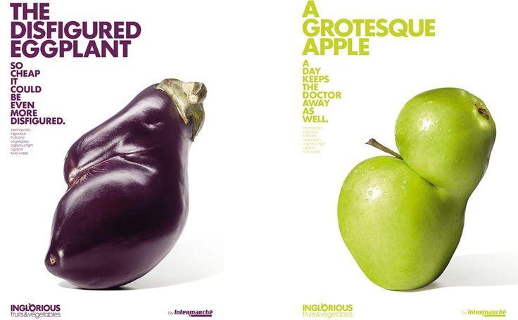 """La campagna anti spreco """"Inglorious Fruit & Vegetables"""" dei supermercati francesi Intermarché continua a mietere successi. Ultimo il premio Design of the Year. In Italia una petizione chiede a Coop Italia di realizzare la stessa idea #intermarche #design #designsoftheyear2015"""