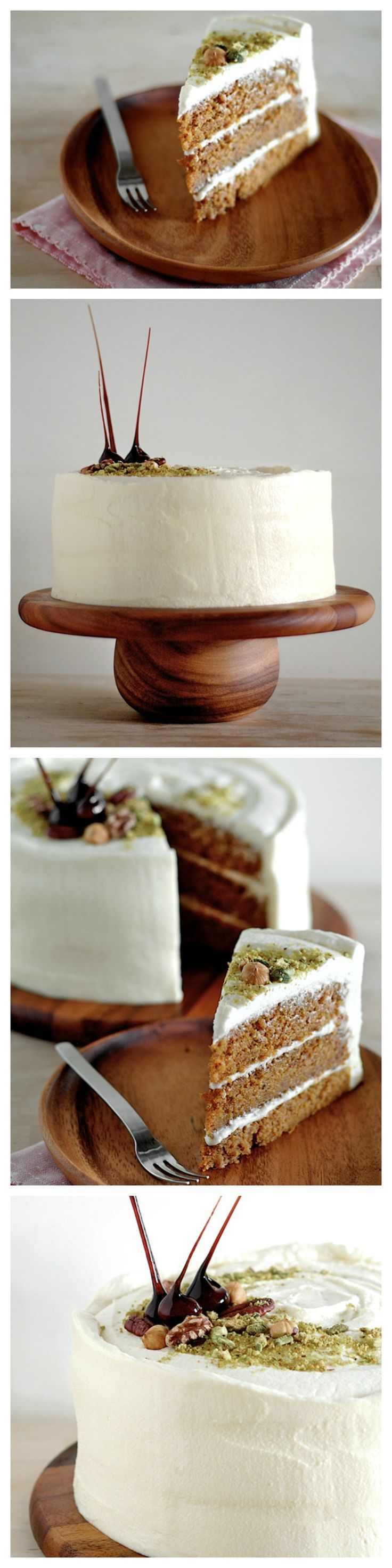 BEST carrot cake with maple cream cheese frosting, the best carrot cake recipe ever, must try   rasamalaysia.com #recipe