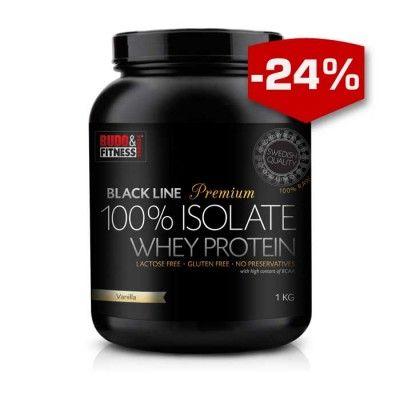 Black Line Premium 100% Whey Isolate - vassleproteinisolat av toppklass! Laktosfritt, glutenfritt, ultrafiltrerat, fritt från tillsattser, kalorifattigt och riktigt hög proteinmängd per servering. Finns även att köpa hosHälsokraftochBudo & Fitness butikernarunt om i hela landet.