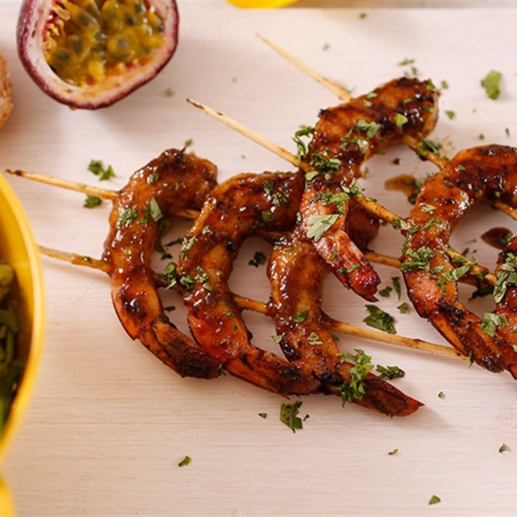 Try this Moroccan Glazed BBQ Prawns recipe by Chef Sammy and Bella.