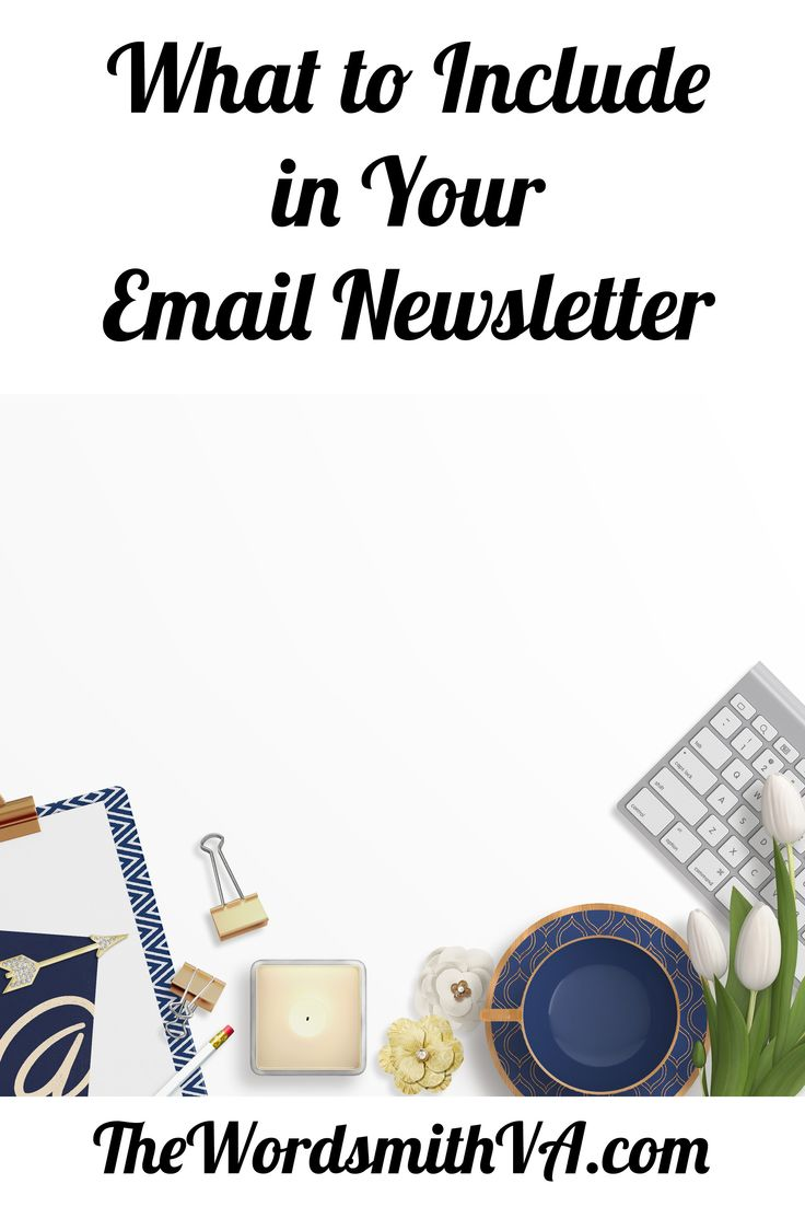 Knowing what to put in your email newsletter is as important as creating one. Experts say the money is in your list. But if you don't send out regular messages, you'll miss out on the additional income that an email newsletter can generate. Keep your newsletters simple and not too long. And always point your readers to something else, such as something to buy, share, or do. Be sure your email newsletters include these nine items.
