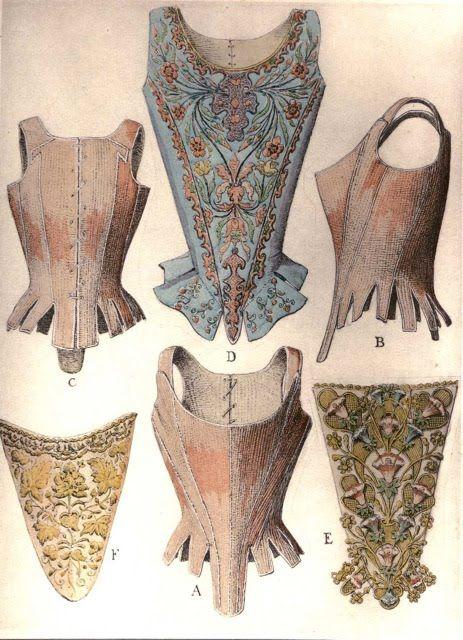 17th century corsets                                                       …