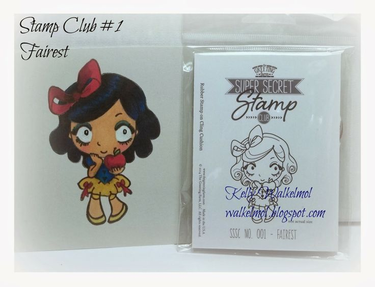 ♥Walkelmol♥ The Greeting Farm secret stamp club #1 first edition stamp called Fairest.  They will be releasing them at a later date as far as I know but you will pay full price instead of the discounted price.