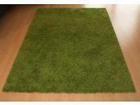 Neuwertiger IKEA Teppich Hampen, langflor, grün (133x195) Hessen - Wiesbaden Vorschau