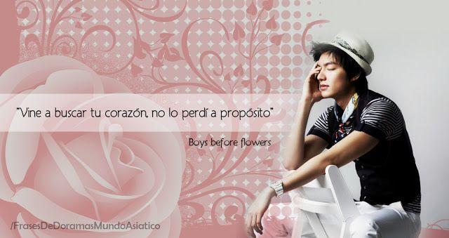 Boys Before Flowers | Palabras Inolvidables