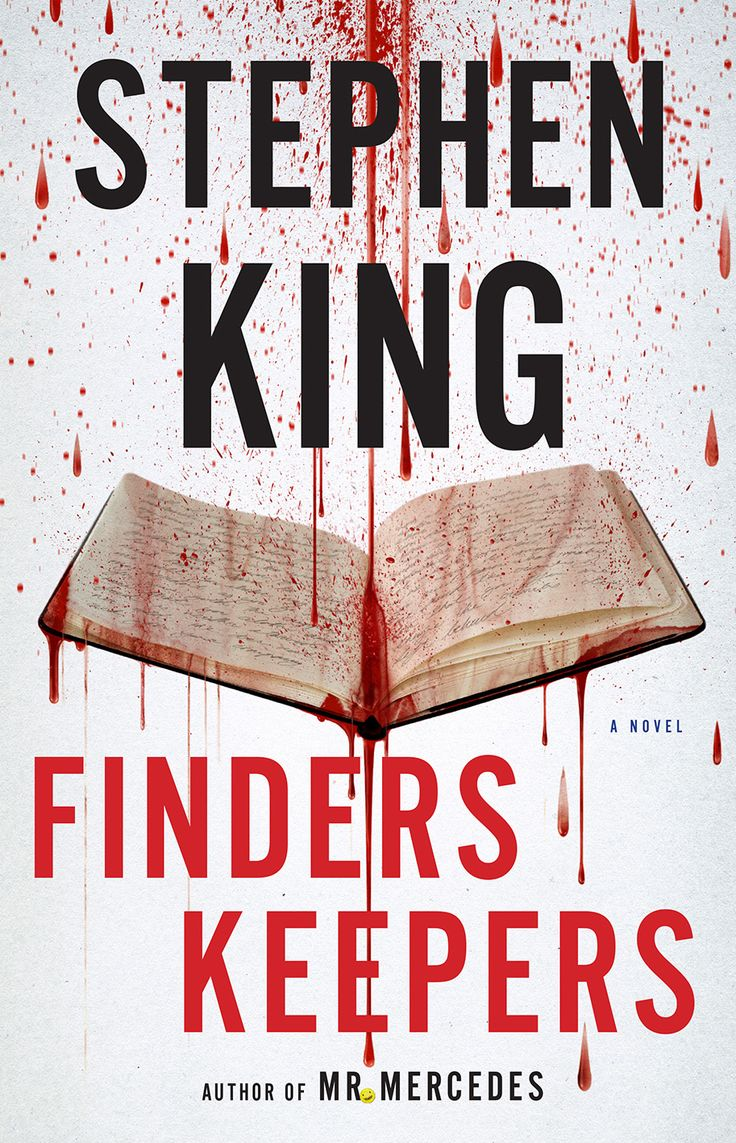 Stephen King's Finders Keepers will be available June 2nd, 2015. Here's the U.S. cover reveal. #Stephen King
