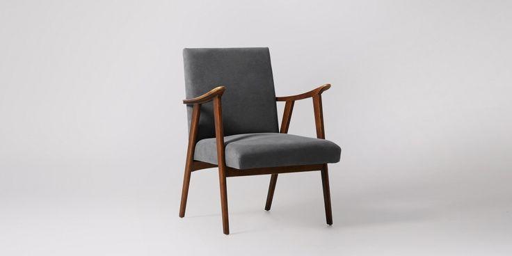 Bailey Maritime Grey Armchair | Swoon Editions
