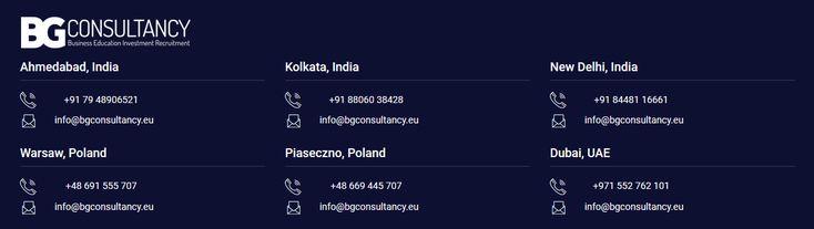 BG Consultancy :) #invest #business #savetax #immigration #study #job #poland #india #dubai Visit: https://www.bgconsultancy.eu/ Read for more Info: https://bgconsultancy.wordpress.com/