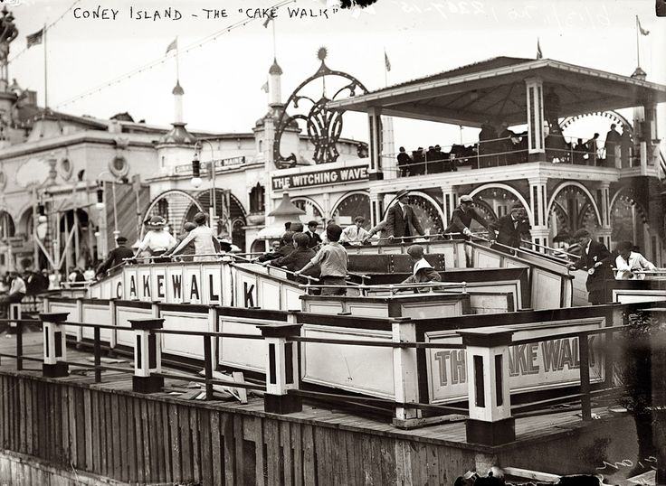 Cake Walk - Coney Island, NY Circa 1911