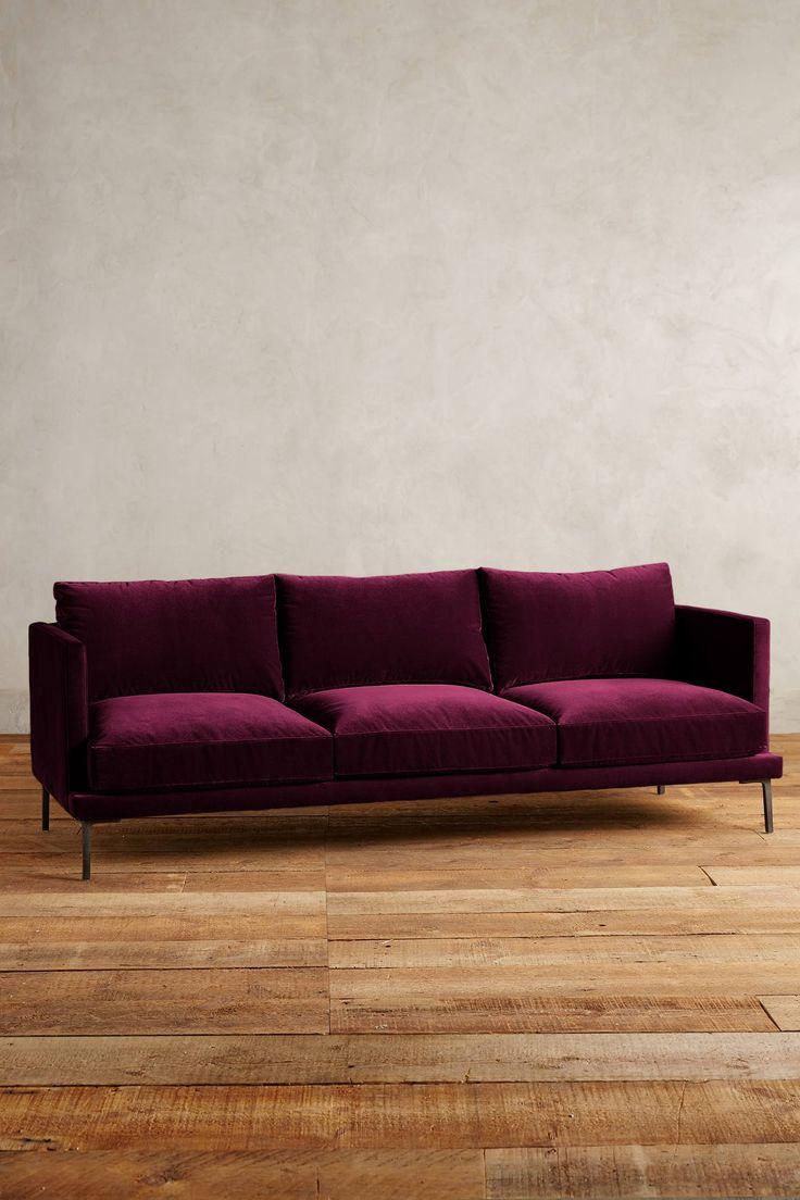 25 B Sta Id Erna Om Velvet Sofa P Pinterest Soffa