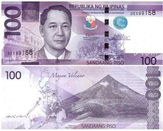 World Bank Notes & Coins : 100 Philippines Peso