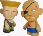 "Guile and Sagat  Street Fighter - Mini Series 3"" Vinyl Figures (Blind Box)"