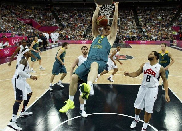 Images from the United States' victory over Australia in the quarterfinals. Team USA advances to play Argentina in the semifinals.