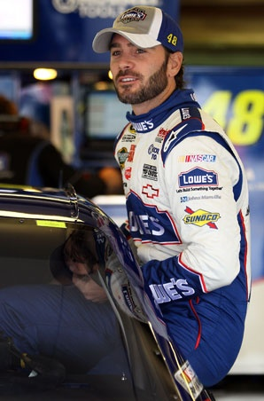 Jimmie Johnson. I'm not a big Nascar person, but that...that is just attractive.
