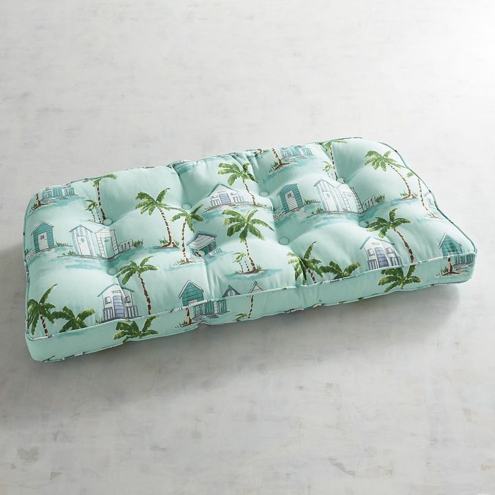 Pier 1 Imports Large Contour Settee Cushion in By The Sea